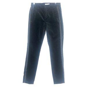 Loft woman's velvet tuxedo pants